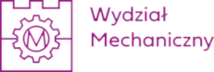 Logo Wydziału Mechanicznego