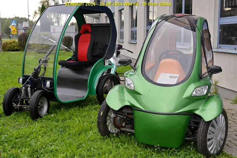 zielone autko