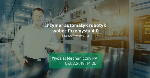 Inżynier automatyk robotyk wobec Przemysłu 4.0