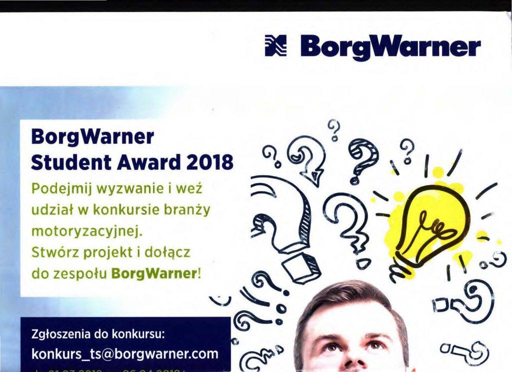 Konkurs BorgWarner