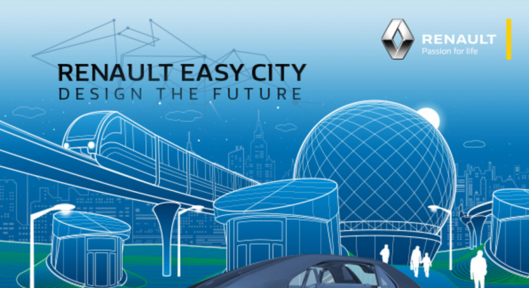 Renault Easy City. Design the Future